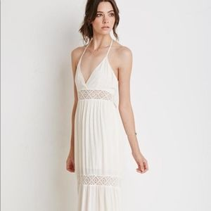 Forever 21 Maxi Crochet Dress
